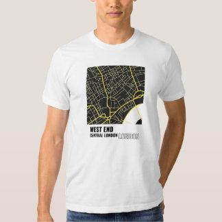 West End, camiseta de Londres central, Londres en Playeras