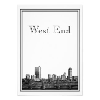 West End del boda del destino de Boston Comunicado