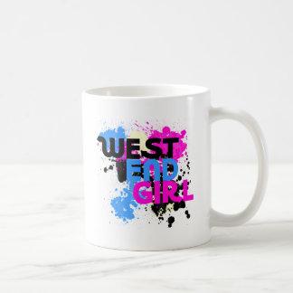 West End Girl Womens 80s Coffee Mug