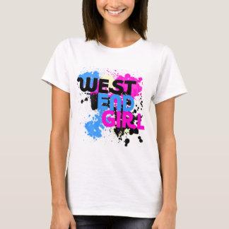 West End Girl Womens 80s T-Shirt