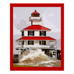 West End Light In Storm Print