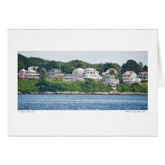 West End - Long Island, Maine Card