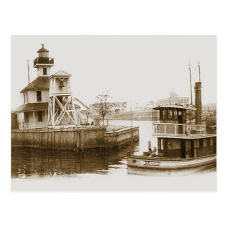 West End New Orleans 1906 Postcard