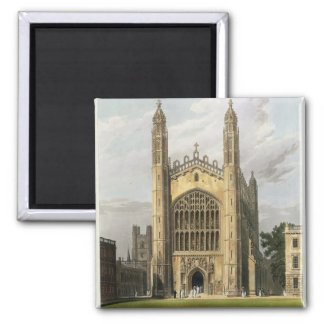 West End of King's College Chapel, Cambridge, from Magnet