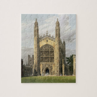 West End of King's College Chapel, Cambridge, from Puzzles