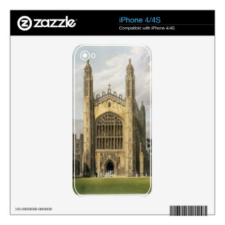 West End of King's College Chapel, Cambridge, from Skins For The iPhone 4
