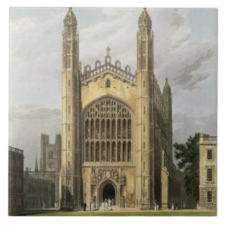 West End of King's College Chapel, Cambridge, from Tile