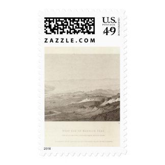 West End of Madelin Pass Postage Stamp