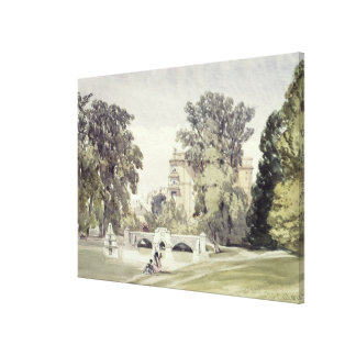 West End of the Serpentine, Kensington Gardens Canvas Print