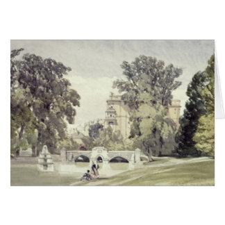 West End of the Serpentine, Kensington Gardens Card