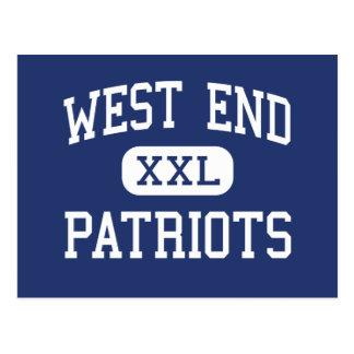 West End - Patriots - High - Walnut Grove Alabama Postcard