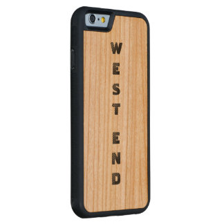 West End Savvy  iPhone Cherry WoodCase Carved® Cherry iPhone 6 Bumper Case