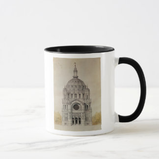 West facade of the Church of St. Augustin Mug