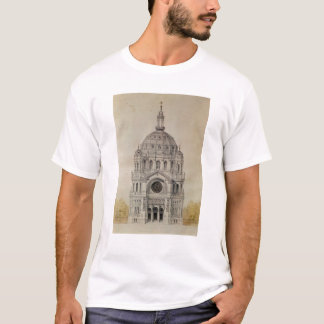 West facade of the Church of St. Augustin T-Shirt