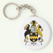 West Family Crest Keychain