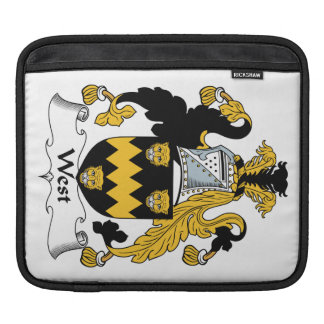 West Family Crest Sleeve For iPads