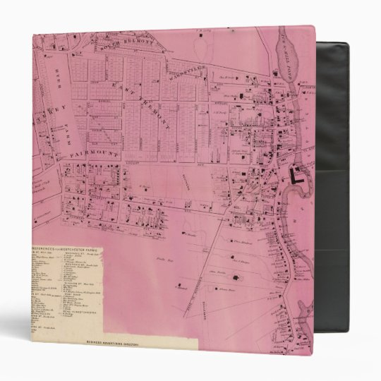 West Farms 3 Ring Binder
