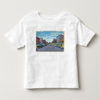 West First Street Business Section Scene Toddler T-shirt