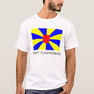 West Flanders Flag with Name T-Shirt