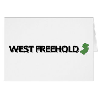 West Freehold, New Jersey Card