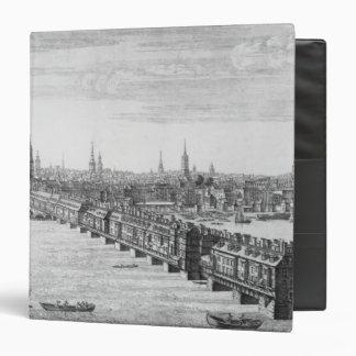 West Front of London Bridge, 1749 Binder