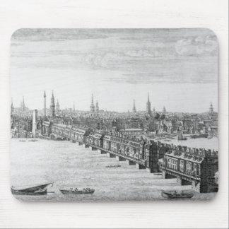 West Front of London Bridge, 1749 Mouse Pad