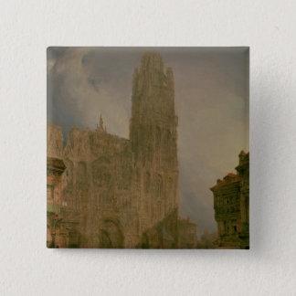 West Front of Notre Dame, Rouen Button