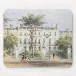 West front of Sir Robert Peel's House Mouse Pad