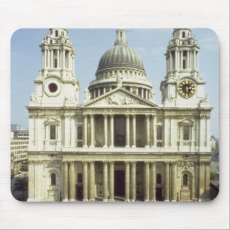 West front of St. Paul's Cathedral, designed by Si Mouse Pad