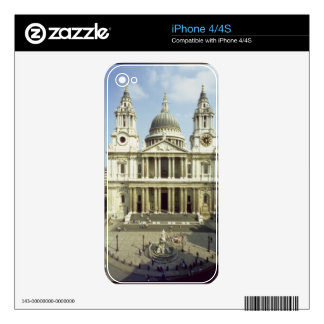 West front of St. Paul's Cathedral, designed by Si Skin For The iPhone 4