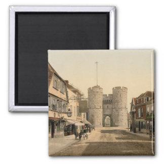 West Gate, Canterbury, Kent, England Fridge Magnets