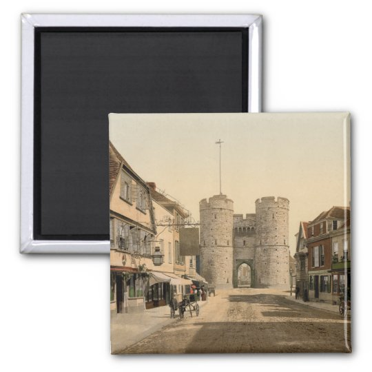West Gate, Canterbury, Kent, England Magnet