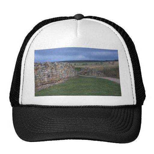 West gate, Vindolanda, Roman Fort, Northumberland, Trucker Hat