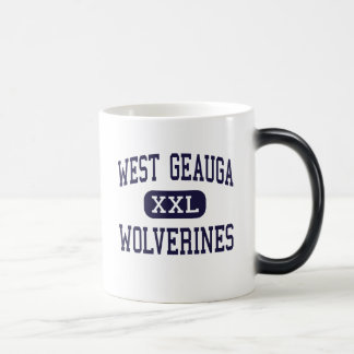 West Geauga - Wolverines - High - Chesterland Ohio Magic Mug
