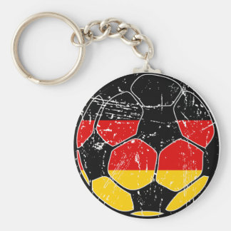 West Germany Soccer Ball Keychain