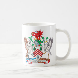 West Glamorgan Coat of Arms Classic White Coffee Mug