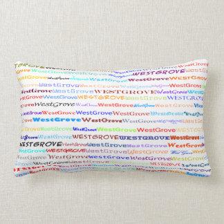 West Grove Text Design II Lumbar Pillow