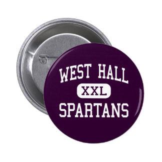 West Hall - Spartans - High - Oakwood Georgia Button