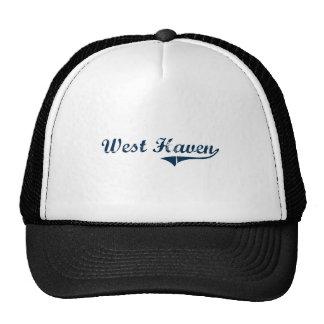 West Haven Connecticut Classic Design Trucker Hats