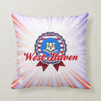 West Haven, CT Throw Pillow