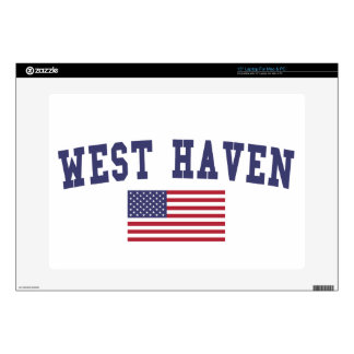 West Haven US Flag Skins For Laptops