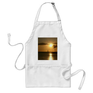 West Hawaii Sunset Adult Apron