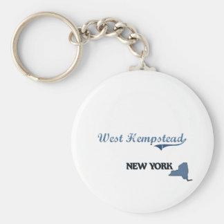 West Hempstead New York City Classic Keychains