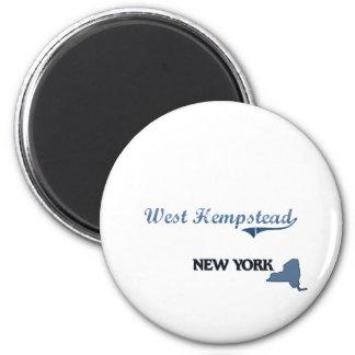 West Hempstead New York City Classic Magnet