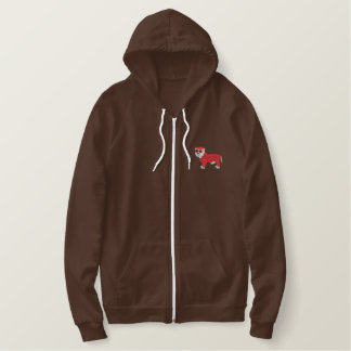 West Highland Dressed Embroidered Hoodie