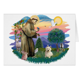 West Highland Terrier  (#1) Greeting Card