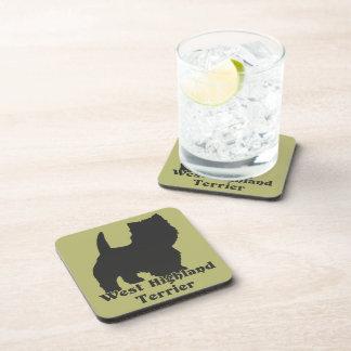 West Highland Terrier Beverage Coaster