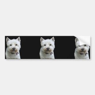 West Highland Terrier Bumper Sticker