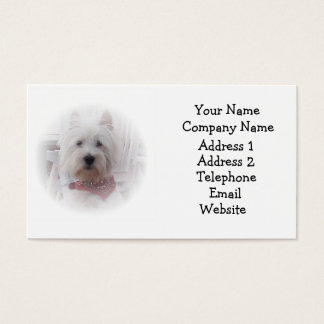 West Highland Terrier Business Card