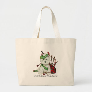 West Highland Terrier Canvas Bag